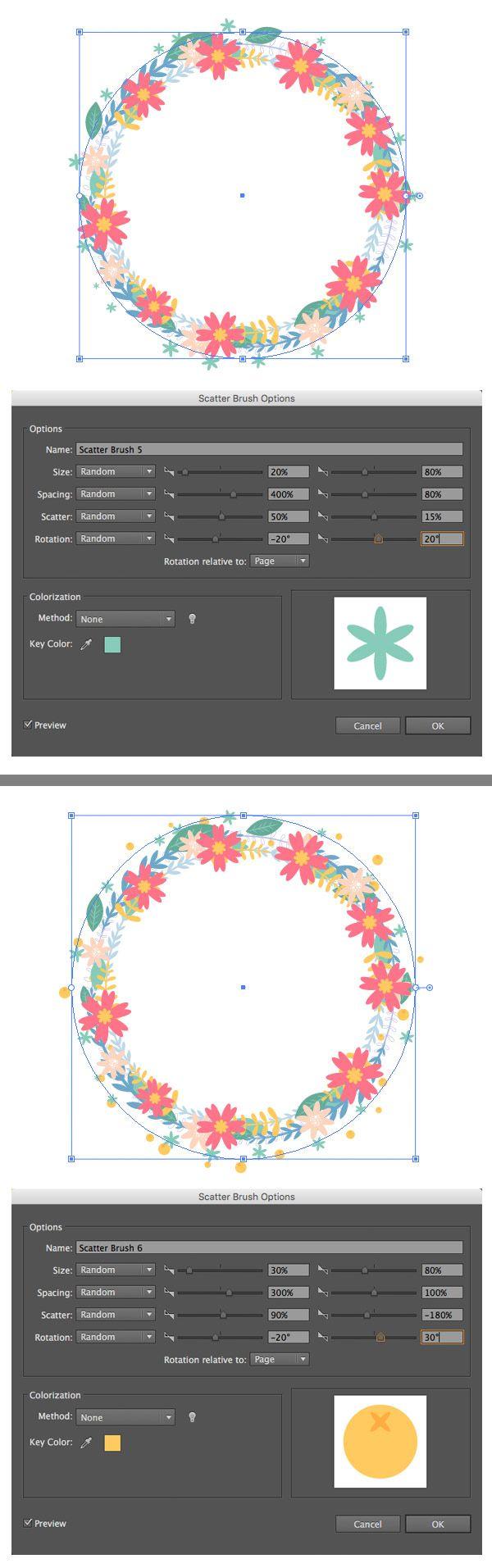 Design A Naw-Ruz Floral Card in Adobe Illustrator