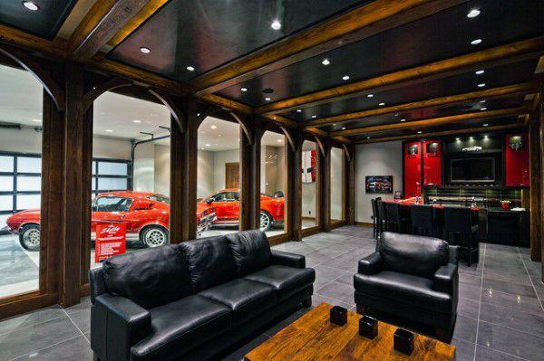 50 Man Cave Garage Ideas Modern To Industrial Designs Man Cave Garage Man Cave Home Bar Man Room