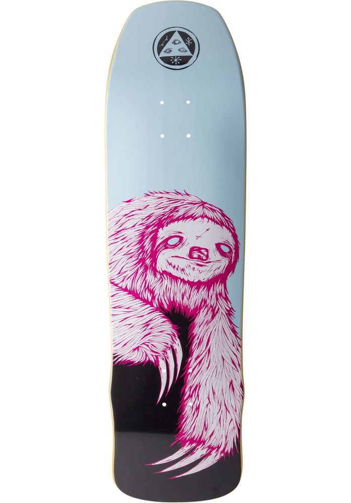 Welcome Sloth-Time-Traveler - titus-shop.com  #Deck #Skateboard #titus #titusskateshop