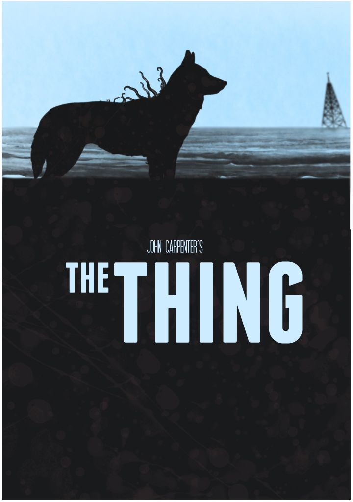 Cool poster for The Thing.