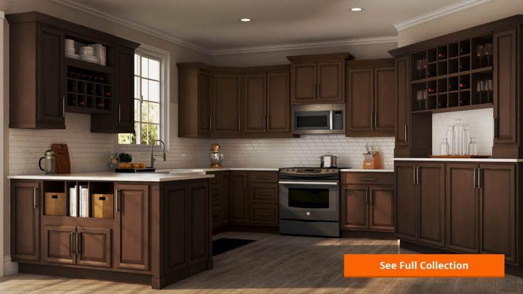 Hampton Bay Hampton Assembled 30x30x12 in. Wall Kitchen ...