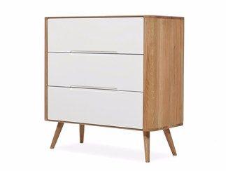 Lacquered dresser ENA DRAWER ONE - Gazzda