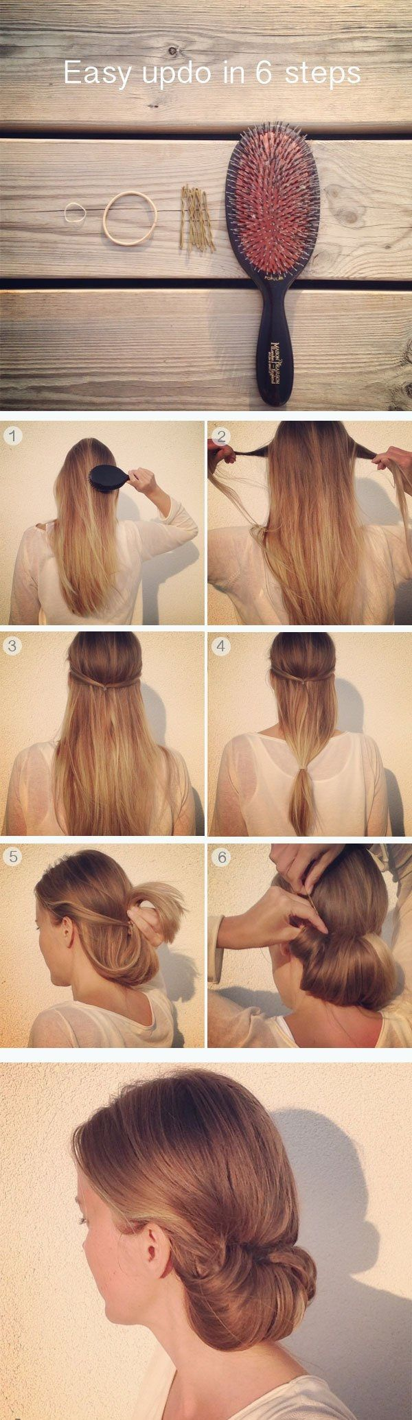 Some Easy Office Hairstyle Tutorials