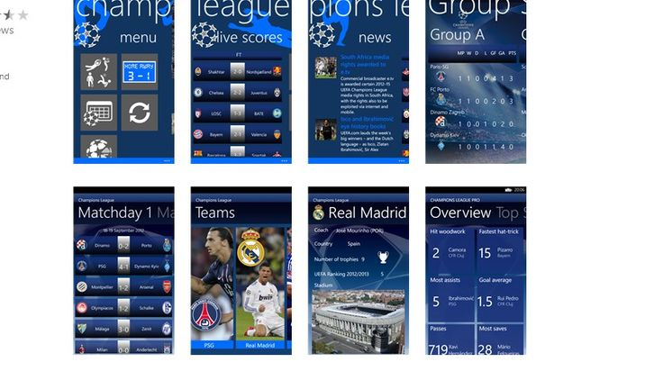 10 Uefa Champions League Windows Phone Apps