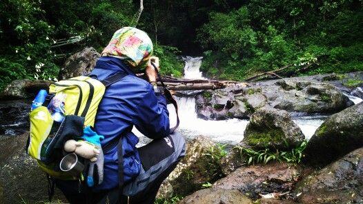 Curug layung indonesia