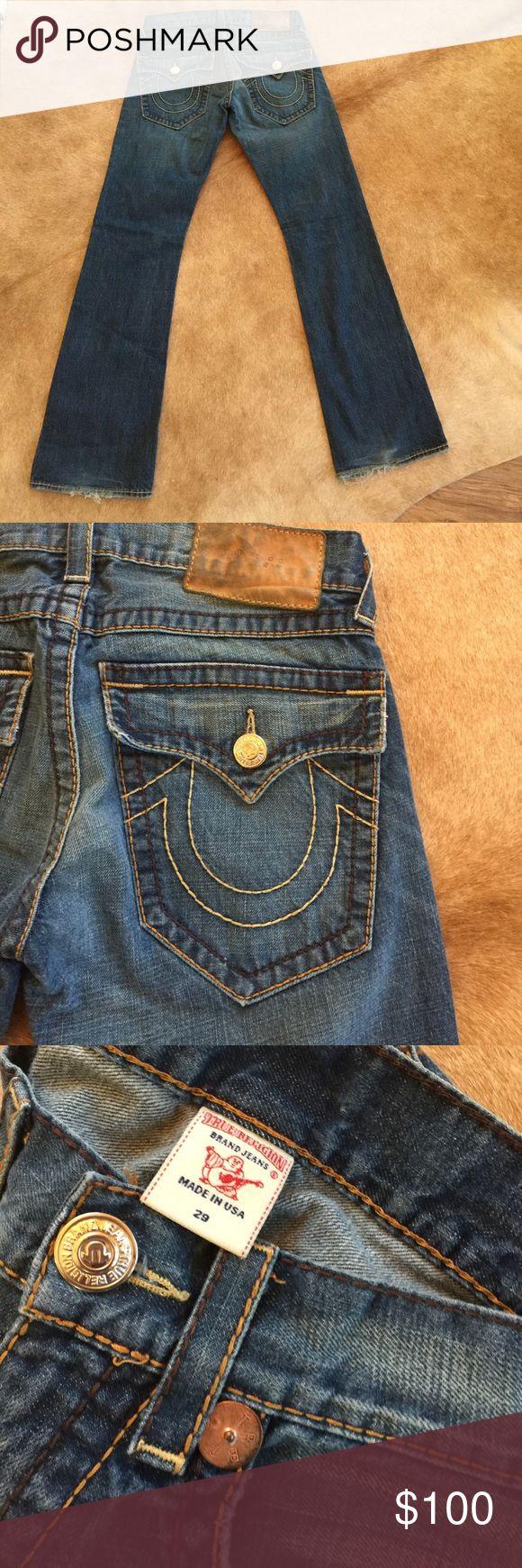 True Religion Brand Jeans size 29 Men's true Religion jeans True Religion Jeans Bootcut