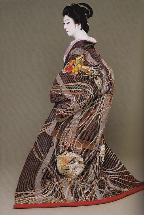 BANDO Tamasaburo, male Kabuki legend, photo by Kishin SHINOYAMA, Japan
