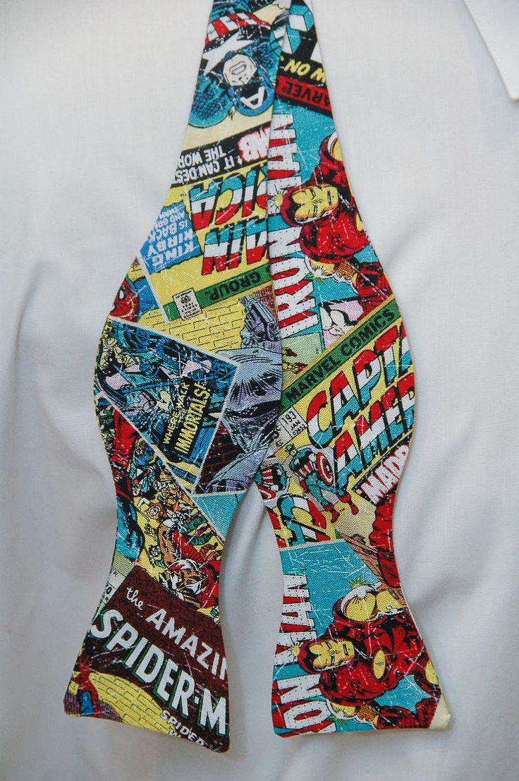 Marvel Comics Action Bow tie by PinchAndPull on Etsy, via Etsy.