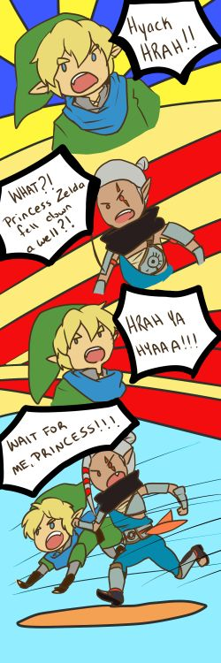 (Hyrule Warriors) What's that, boy?