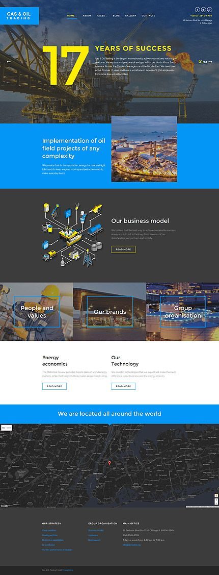 The 415 best joomla templates images on pinterest android gas oil trading company website joomla template themes business maxwellsz