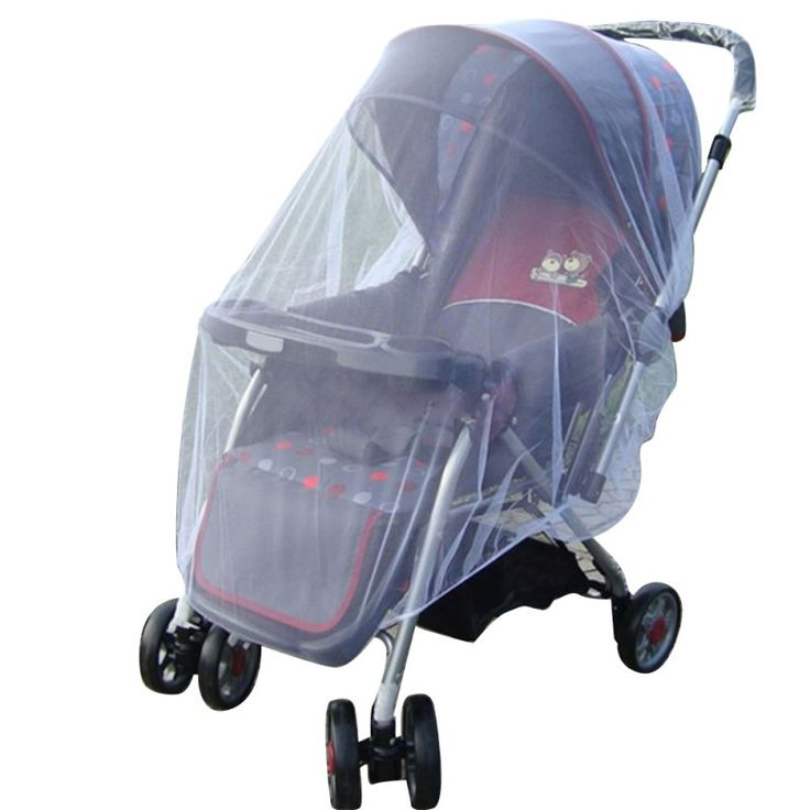 Stroller Pushchair Mosquito Insect Net Mesh Buggy Cover for Newborn Baby Infants LL5
