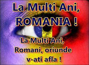 La Multi Ani Romania - La multi ani Romania 2015 #lamultiani #romania #poze1decembrie