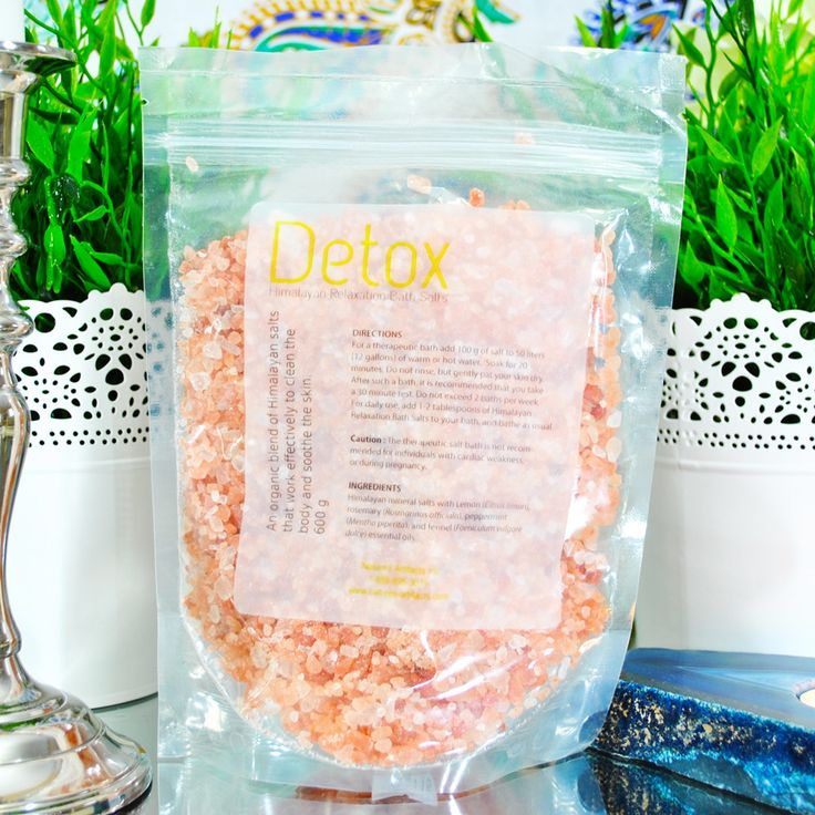 Detoxification Bath Salts