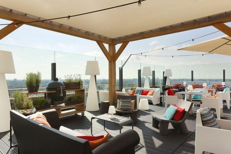 Floor 17 Rooftop bar in Amsterdam