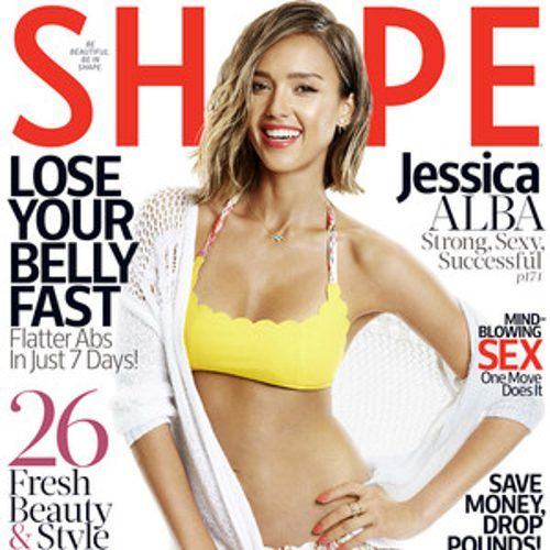 http://www.eonline.com/news/659938/jessica-alba-flaunts-fit-bikini-bod-for-shape-but-admits-working-out-sucks-find-out-her-fitness-routine