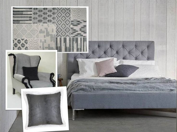 Soft Grey Bedroom by Homegirl London
