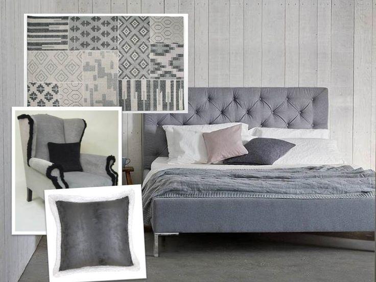Soft Grey Bedroom By Homegirl London