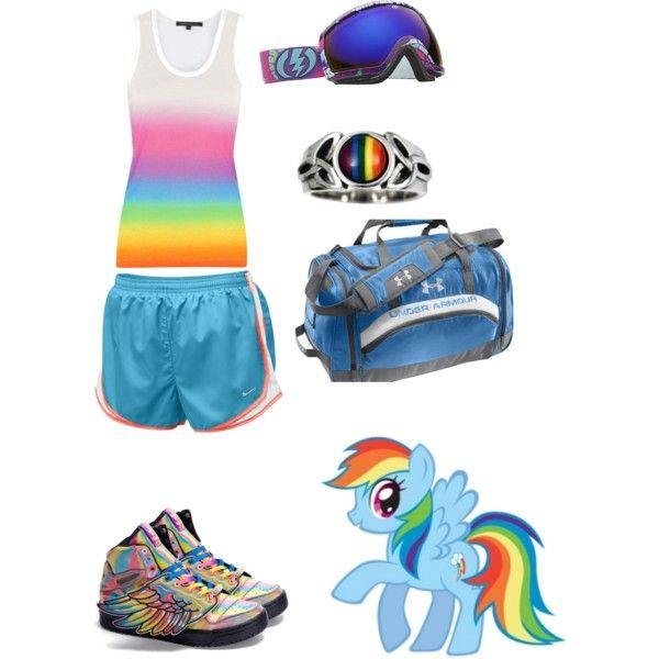 Rainbow Dash Outfit