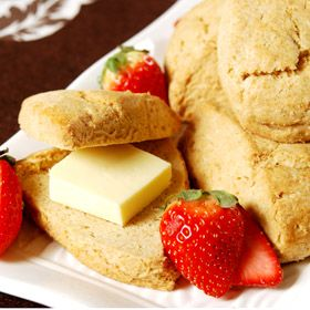 Maple Scones, a recipe from ATCO Blue Flame Kitchen's Holiday Collection 2000 cookbook.