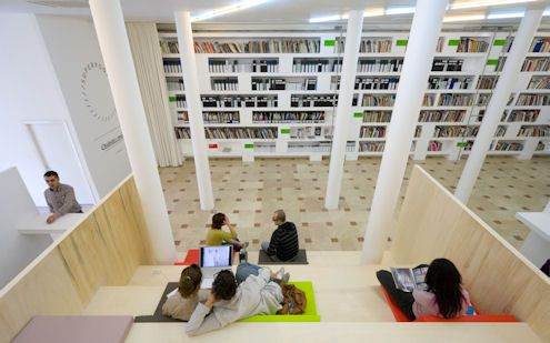 Açık Kütüphane_İstiklal/Beyoğlu: Open Libraries, Libraries Ideas, Spaces Concept, Books, Media Bays, Open Spaces, Public Libraries Design