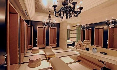 Locker Room In The Iridium Spa St Regis Saadiyat Island
