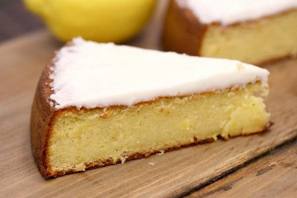 Honeyville Farms - Cookin Cousins - Almond Flour Lemon Cake - Did you see this @Sarah Chintomby McCuiston ?