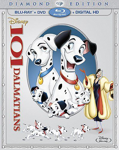 Pre-Order 101 Dalmatians: Diamond Edition on Blu-ray/DVD for $22.79 with Pre-Order Guarantee