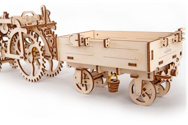 Ugears 3D mechanické puzzle Vlečka