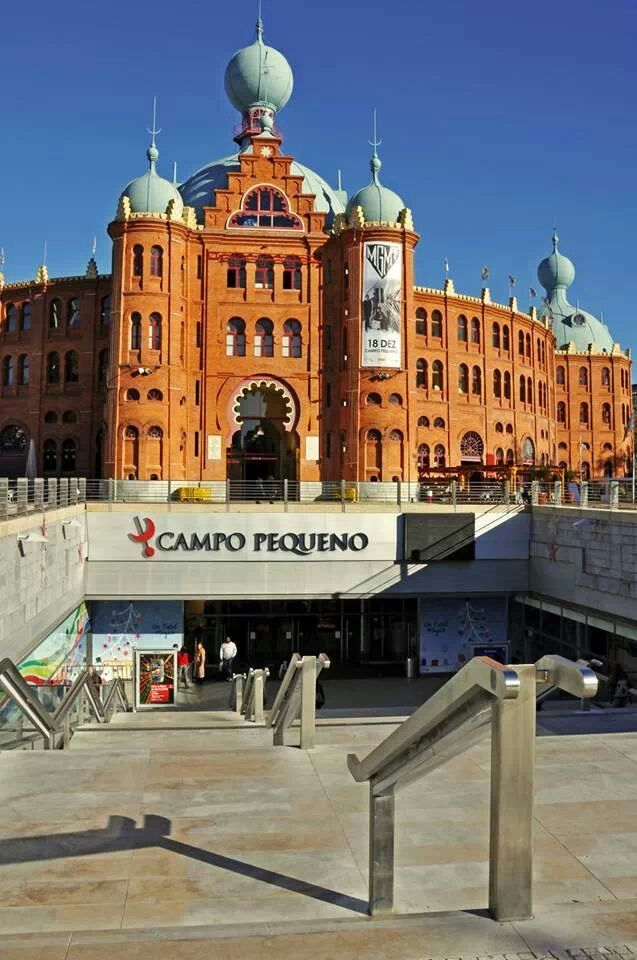 Campo Pequeno Arena #Lisboa #Portugal