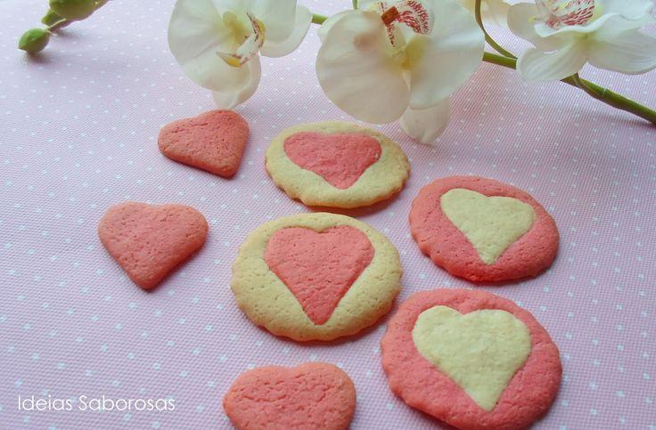 Corações de Manteiga - Valentine's Day Cookies