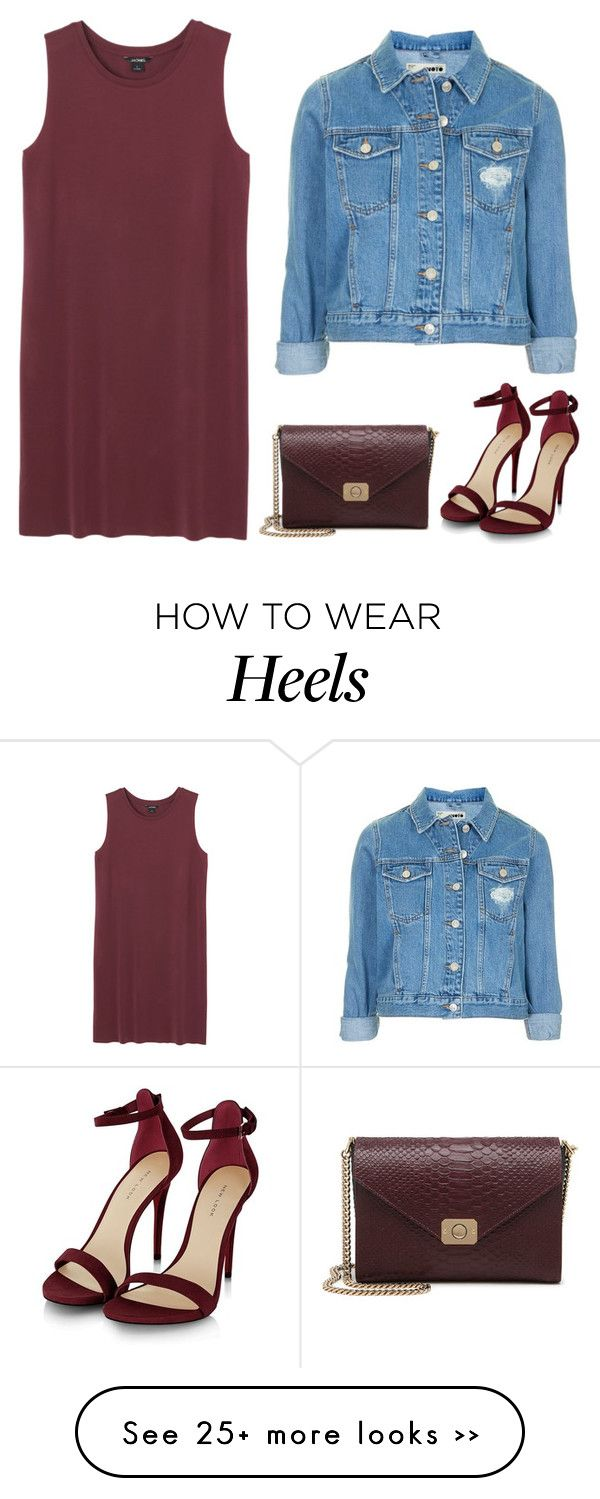 """""""At night"""" by kinacool on Polyvore featuring Monki, Mulberry and Topshop"""