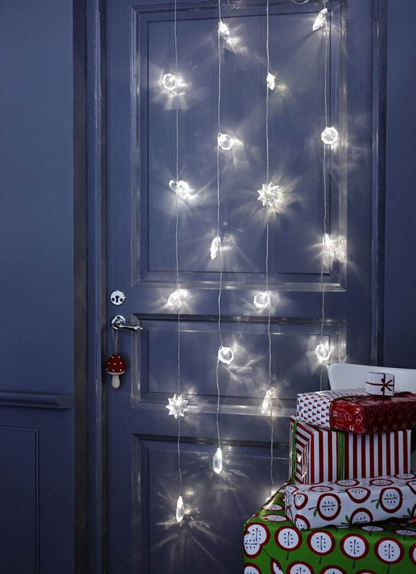 Best 25 christmas lights bedroom ideas on pinterest for String lights for bedroom ikea