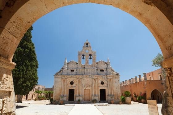Arcadi monastery   Rethymnon Crete