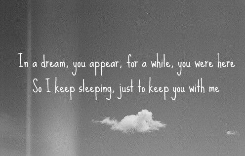 meet me in my dreams tonight quotes
