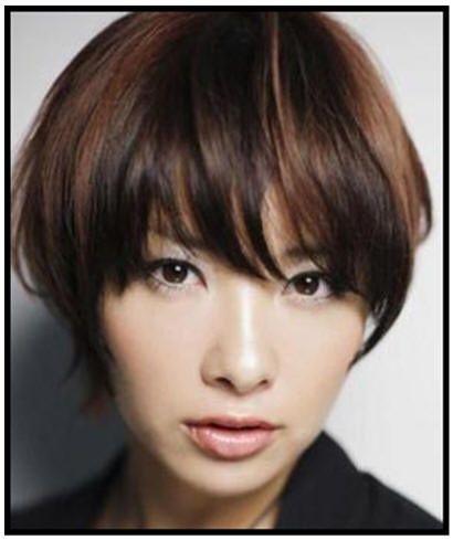 dark hazelnut brown hair with light red copper brown