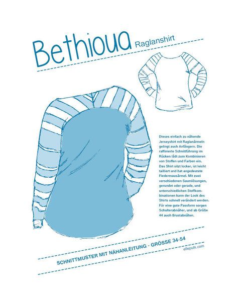 Bethioua - schnittmusterchens Webseite! Freebook