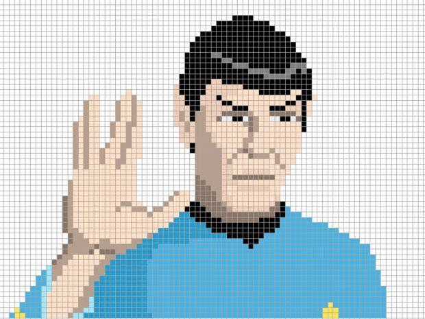 199 besten cross stitch star trek, star wars osv Bilder auf ...