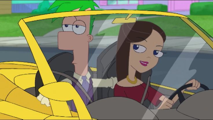 phineas and ferb - act your age. I will admit I gasped like a fangirl when this happened. No regrets.