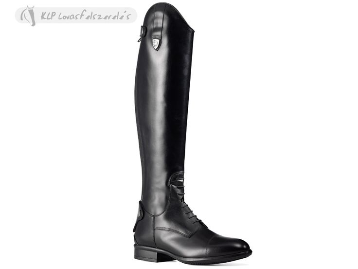 Tattini Boxer Riding Boots With Zip/laces Calf M  Features: - High quality natural calf leather - Tailor made fitting - Elasticized back for a perfect fit - Exclusive Air Boost ventillation system - Shock-absorbing system - Made in Italy  (European sizes 35 and 46 custom-order)  Available from May, 2014