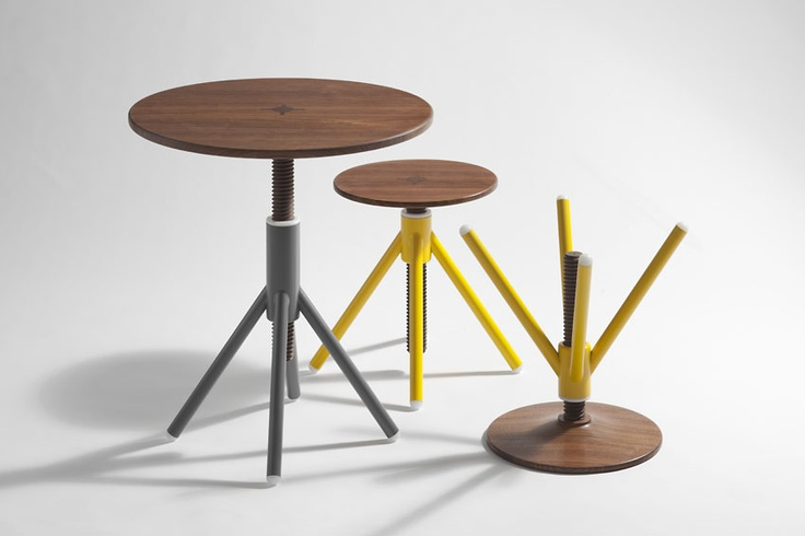 Thread Stool by Coordination