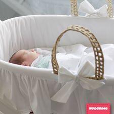 A primeira caminha do bebé merece ser assim especial, concorda? #Pulguinhas #alcofa