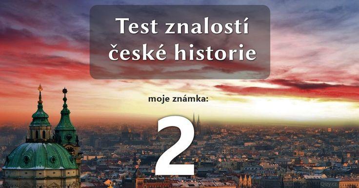 Česká historie v letopočtech | Kvízy a testy