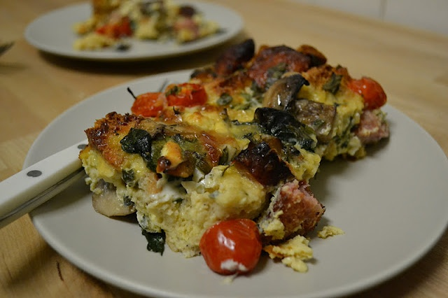 Spinach Strata | Recipes | Pinterest