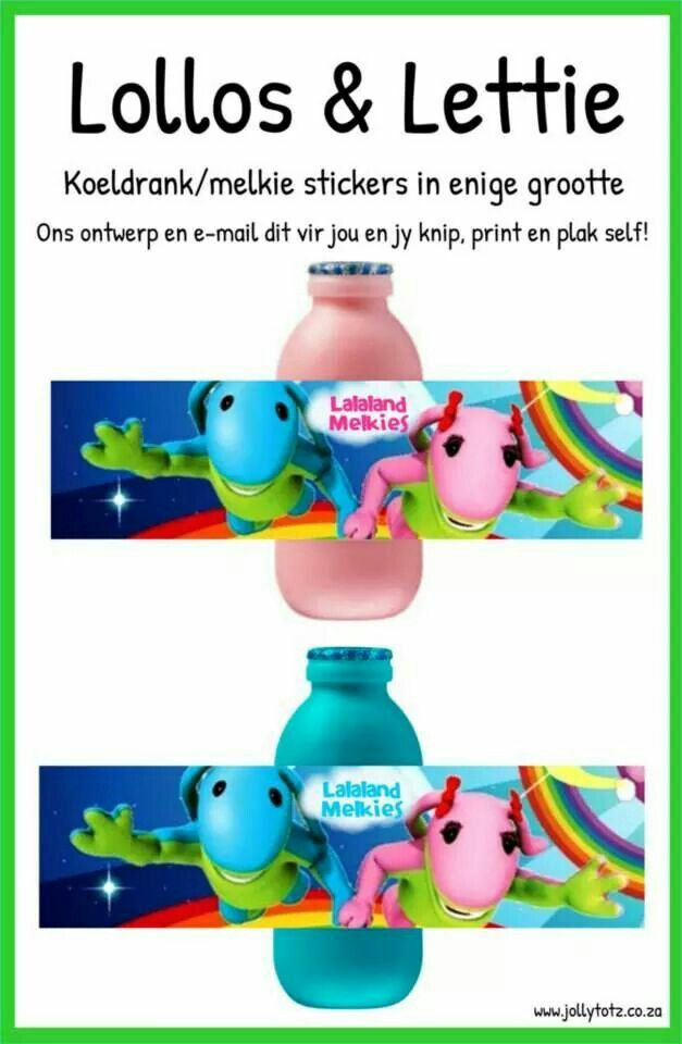 Lollos en Lettie Stickers