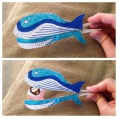 Jonah and the fish. DIY bible craft.
