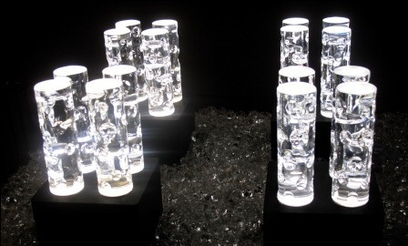 Les cadeaux de Nicolas Sarkozy à Barack Obama, Des lampes en cristal Carla Bruni-Sarkozy sait se montrer généreuse. Michèle Obama en ouvrant ses cadeaux a découvert des lamapes en cristal Baccarat d'une valeur de 5.500 dollars (un peu moins de 4.000 euros).