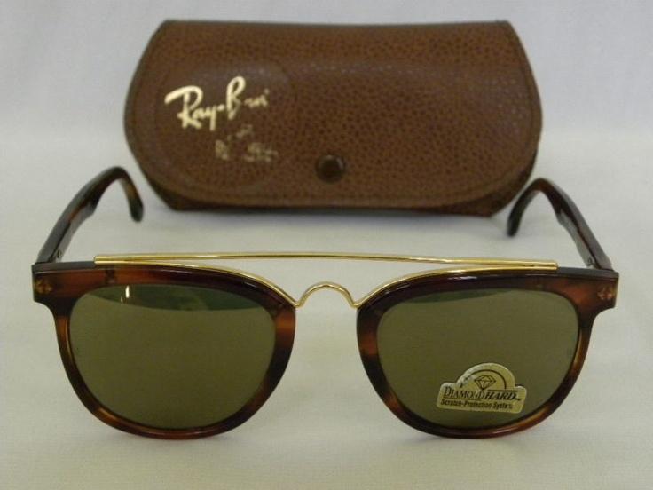 VINTAGE RAY BAN B&L GATSBY Sunglasses tortoise brown round