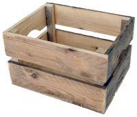 Cortina Fahrrad Transportkiste Holz für Gepäckträger