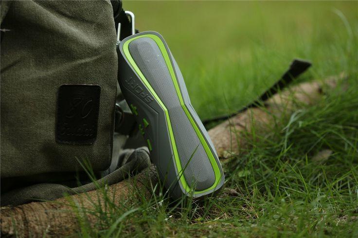 Enceintes portables, [Haute- Parleurs Bluetooth 4.1, IPX7] Leeron Enceinte Bluetooth sans Fil, avec Haute Définition Qualité Sonore Hifi Haut Parleur Bluetooth Puissante étanche pour Sport