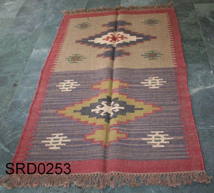 Antayla turkish vintage handmade kilim rug, afghan rug, small size (3x5) #Turkish